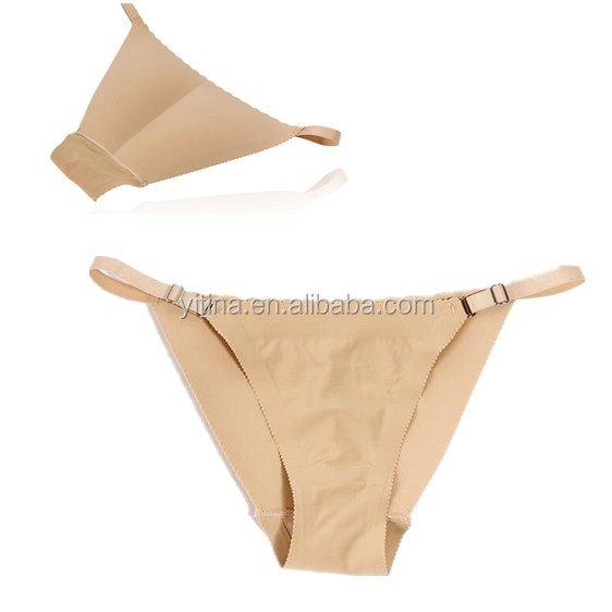 Good quality #P3815 Adjustabl seamless Buttocks Push Up women panty