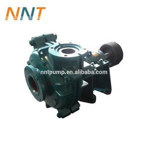 Small slurry pump used for abrasive coal slag
