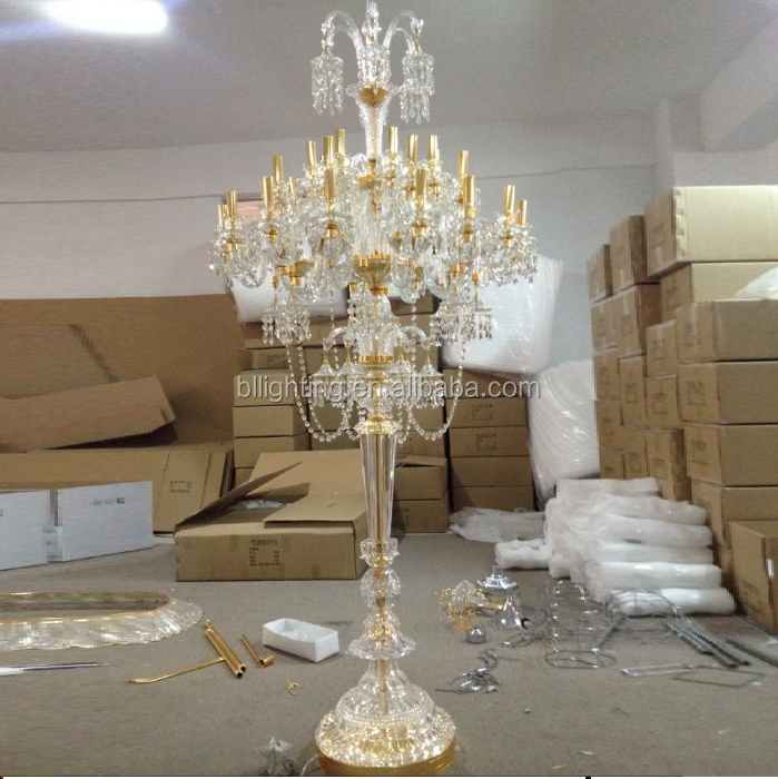 Contemporary Baccarat Style Crystal Chandelier Floor Lamp Product On Alibaba