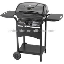 outdoor bbq gas grill with back burner