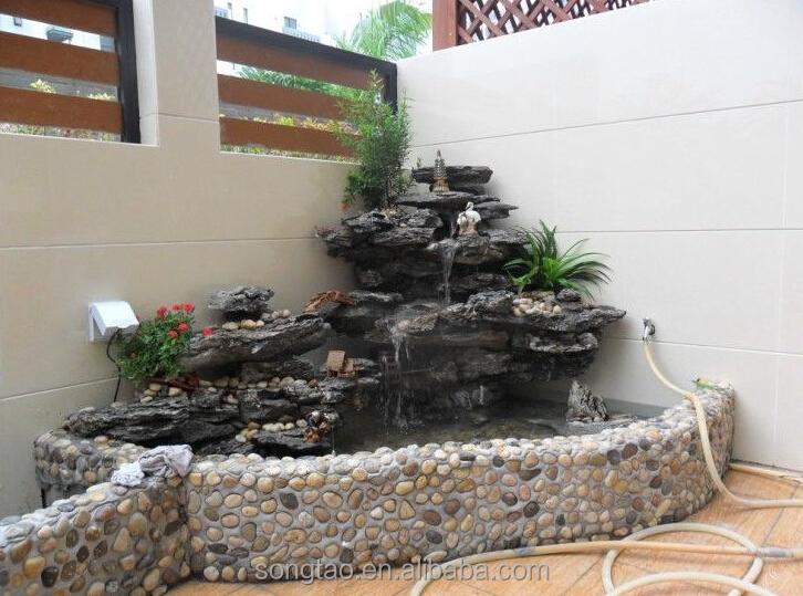 Guanzhou im genes de agua de piedra de buda para el jard n for Fuentes de jardin caseras