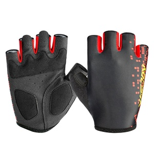 Hot selling men women outdoor bike cycling sports gloves fingerless bicycle road bike riding gloves