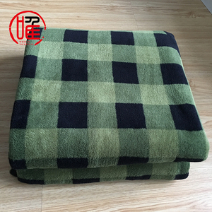 High Quality Olive Military Blanket Wholesale Polar Fleece Army Wool Blanket