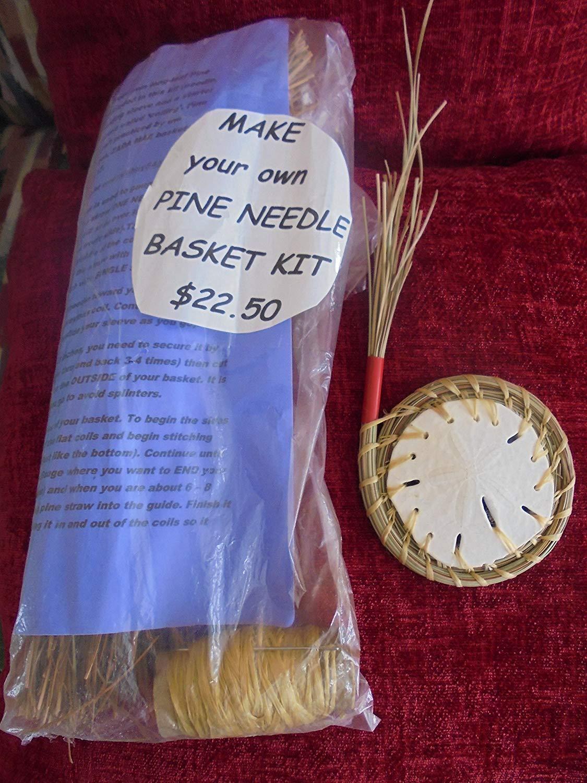 Pine Needle Sand Dollar BASKET MAKING KIT