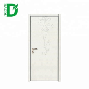 Fashionable Hiqh Quality Modern Teak Wood Carving Door Design