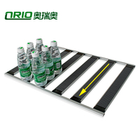 Special Design Gravity Roller Track Shelf System Gravity Feed Can Over The Door Shelf Rack For Wholesales