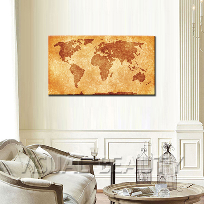 World Map Wall Hanging vintage wood world map wall hanging decoration - buy wall hanging