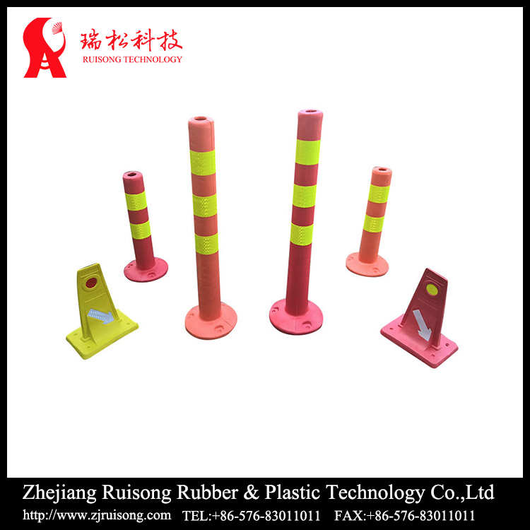 road traffic signs flexible High strength Warning bollard