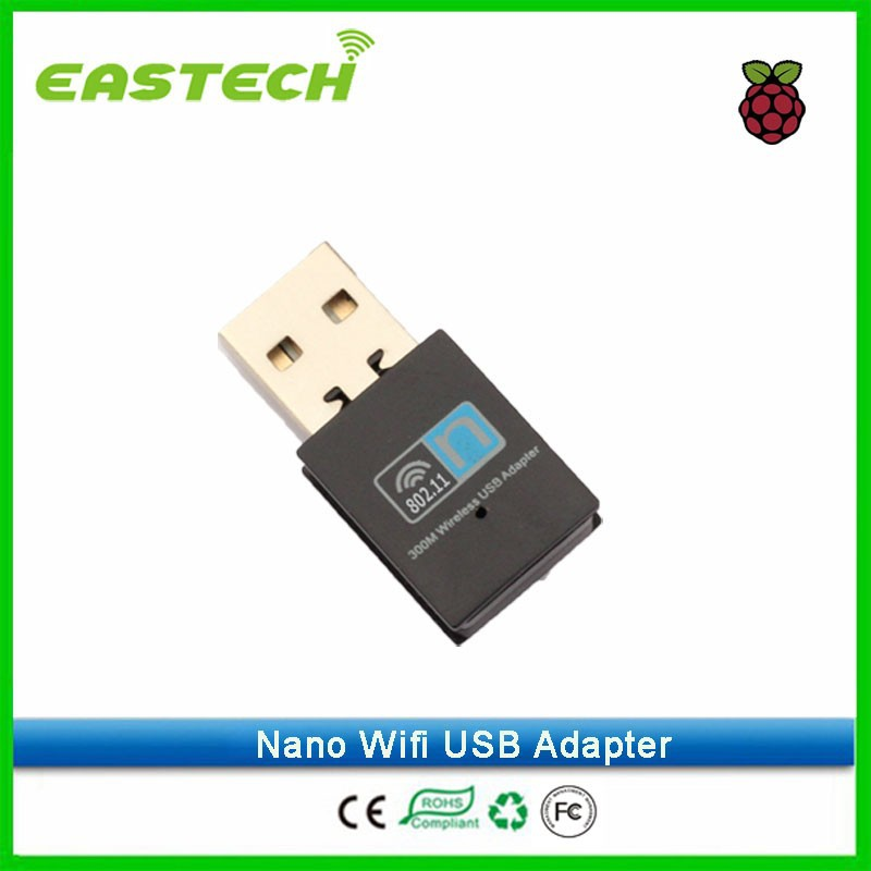 Made in China factory Mini 300 Mbps USB WiFi Adapter/ Wireless Network Card