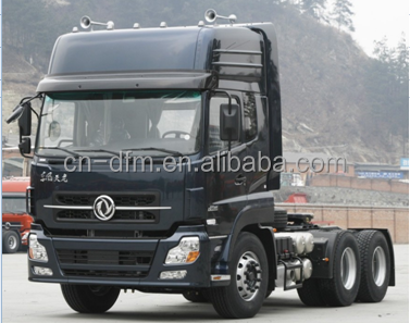 Chinese top brand Dongfeng 6x4 prime mover 420hp renault engine height ceiling cab