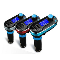Wireless Car Kit MP3 Player FM Transmitter With Car Audio Remote Control LCD Display