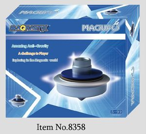 Fly UFO physical magnetic educational kids toys physics toys
