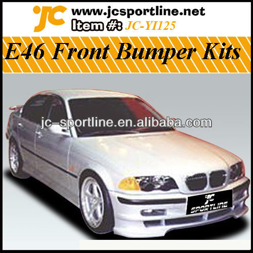E46 Front Bumper Kits , FRP Car Bodykit For BMW