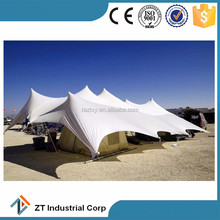 Waterproof Flame retardant stretch tent fabric