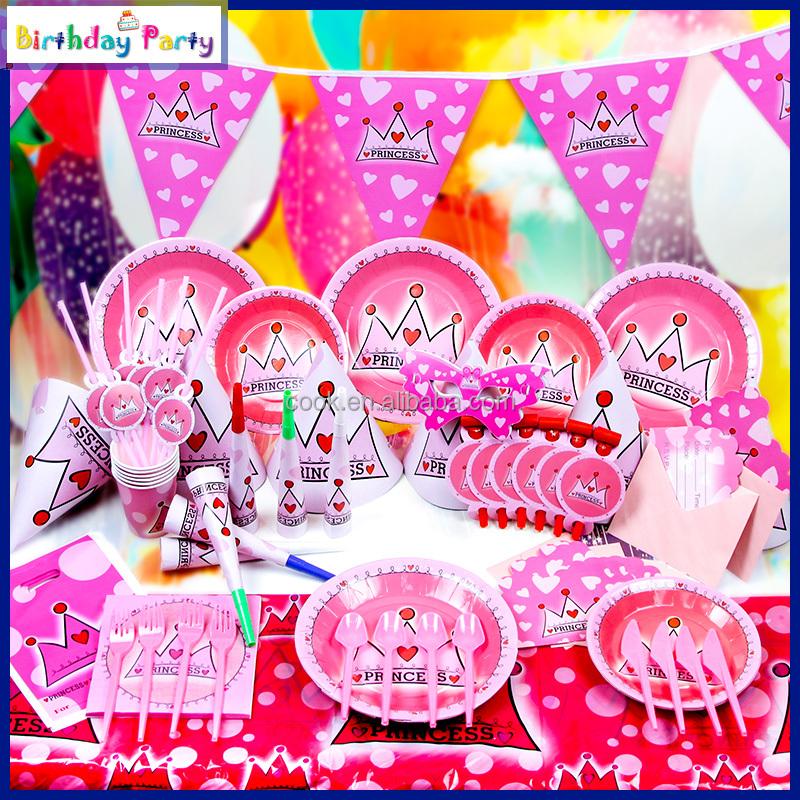 China princess birthday supplies wholesale 🇨🇳 - Alibaba