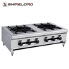 Commercial Restaurant Ovens Table Top 2 Burner Gas Stove Top