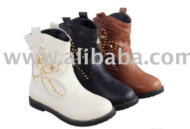 2010 New Style Studed Ankle Boots