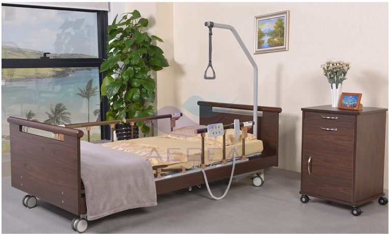 AG W002 hospital ultra low electric nursing bed for patient medical  equipments home care. Ag w002 Hospital Ultra low Electric Nursing Bed For Patient