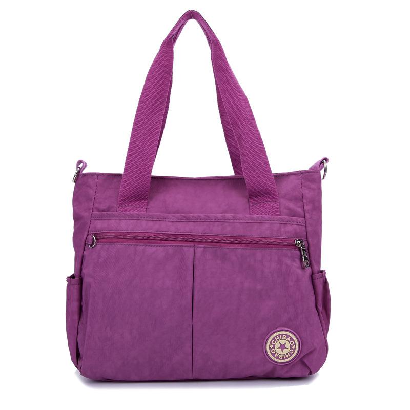 Get Quotations 2014 New Brand Designer Fashion Nylon Bags Leopard Print Women Handbags Casual Shoulder Bag Messenger