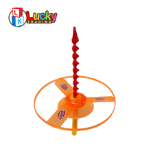 newest design kids outdoor toys hover disc light up frisbee with double flashing light