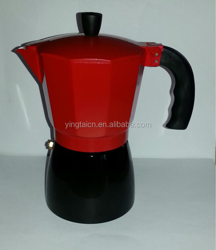 expresso Aluminium coffee make/coffee maker 1, 3,6, 9,12 cups/hot selling coffee maker