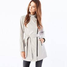 Top sale guaranteed quality european trench coat for women