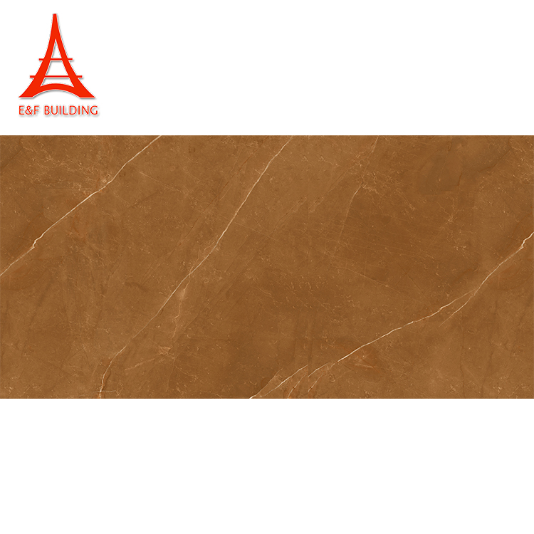 Foshan textured terracotta polished floor tiles 800x1600 brown polished tiles
