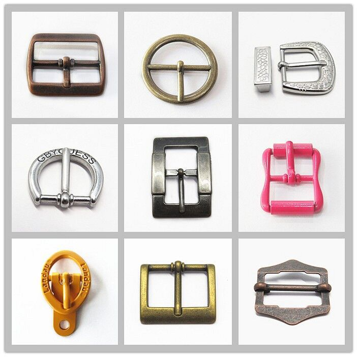 New Fashion Nickle Free Center Bar Metal Roller Buckles For Shoes ...