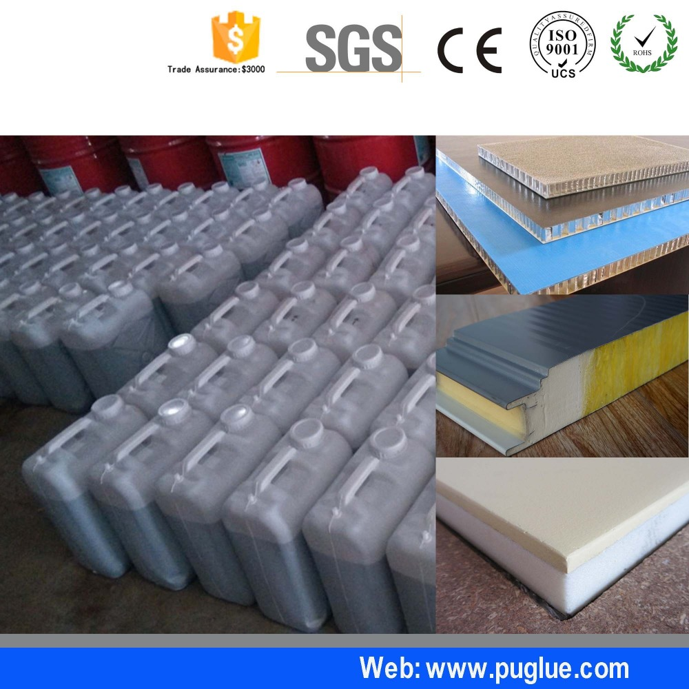 China Polyurethane pu Spray Adhesive for Melamine Paper Board
