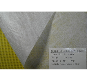 Hot Selling Wholesale pva nonwoven fabric dissolves water soluble nonwoven