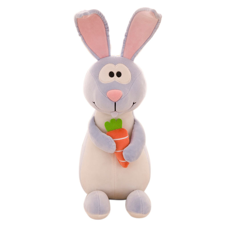OEM Plush Material Cute Animal Stuffed Toy Long Ear <strong>Rabbit</strong>