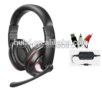 New style stereo 4 in 1 video gaming headphone for Xbox one