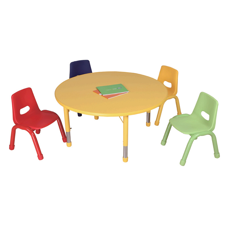 Adjule Nursery School Furniture Child Study Table And Chair Tale