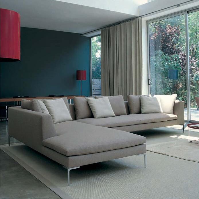 2016 salon canapé moderne de haute qualité tissu canapé d\'angle ...