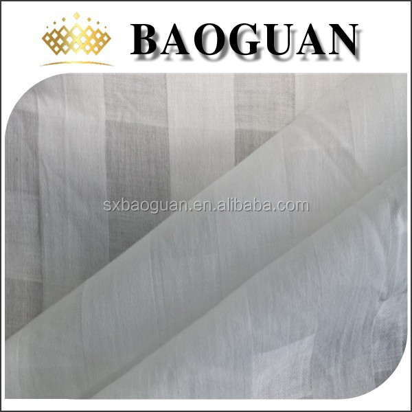 100%cotton bed sheet fabric for hotel project