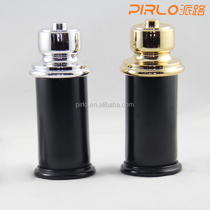 100ml 3.3oz Black glass pump spray bottles for man`s perfume Unique shaped perfume glass bottles fantastic spray bottles