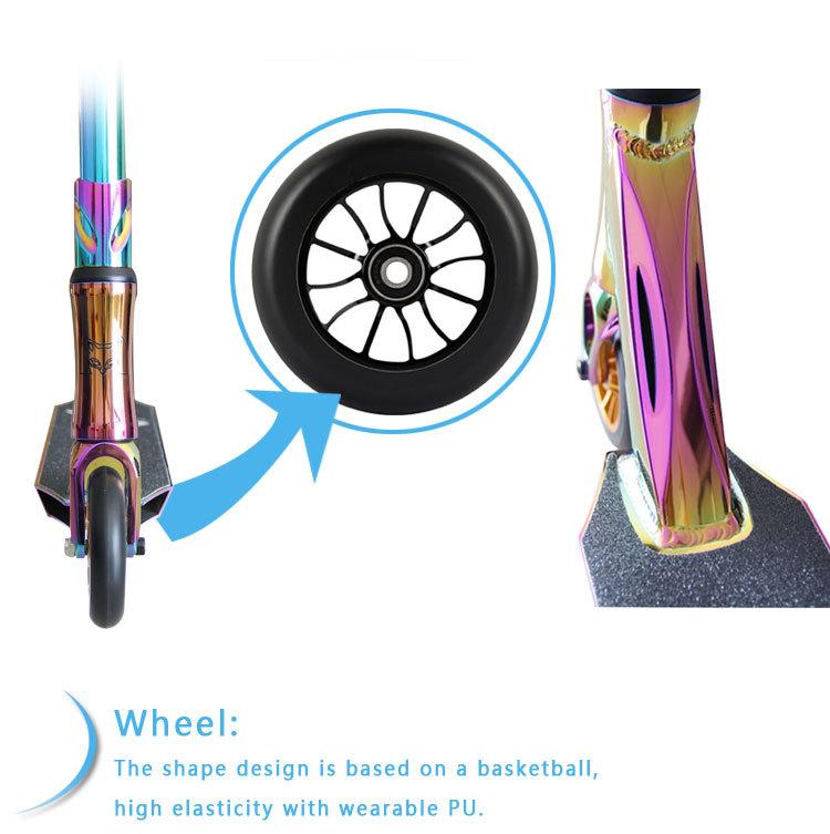 neo chrom erwachsenen stunt scooter pro roller tretroller. Black Bedroom Furniture Sets. Home Design Ideas
