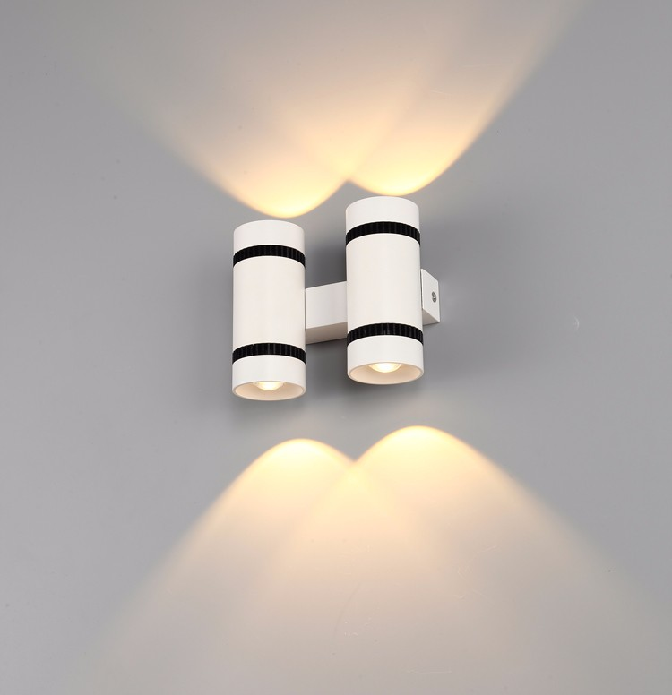 Led Wall Lamp Indoor Led Up Down Light 3w Warm Light For Living ...