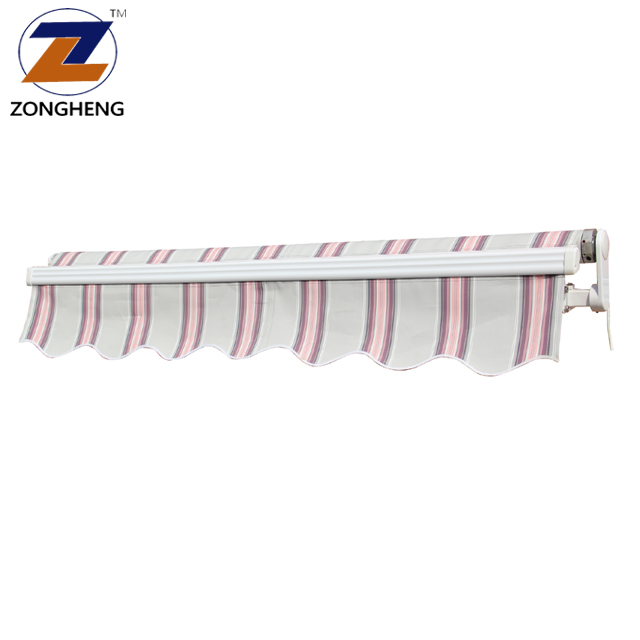 Fireproof fabric outdoor decorative windows caravan motorized door metal balcony electric roof retractable used awnings for sale