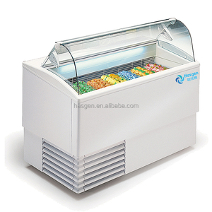 Swell Ice Cream Dipping Cabinet Ice Cream Horizontal Display Freezer Ice Cream Showcase In Coffee Shop Interior Design Ideas Greaswefileorg