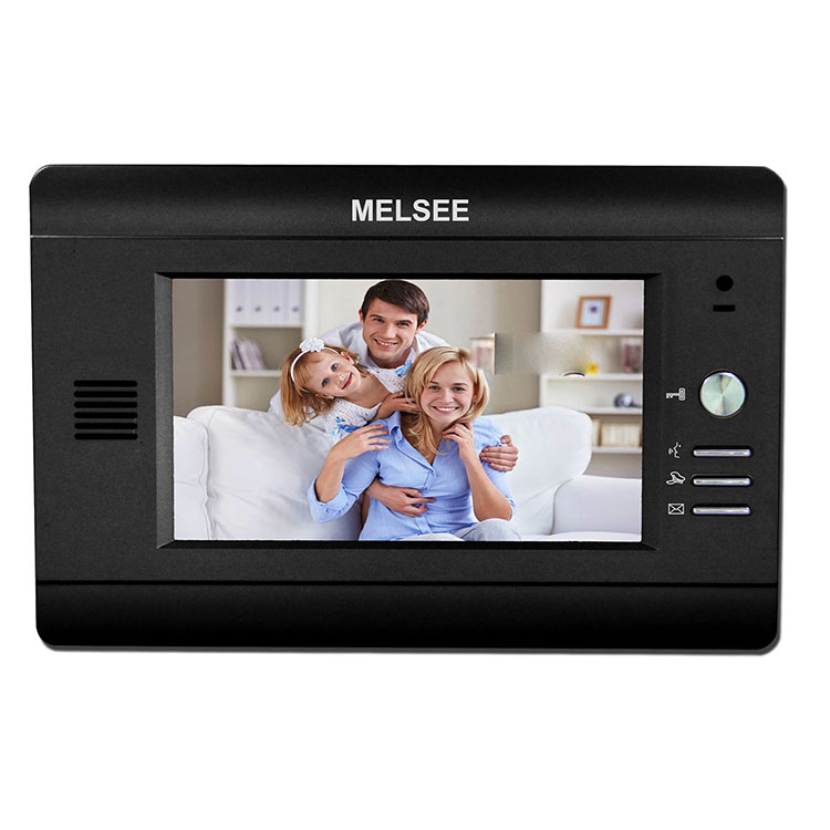 MELSEE custom brand Cat 5 video door phone bell building aoartment security intercom system