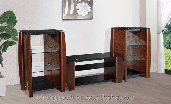 Modern Livingroom Solid Wood Furniture Solid Wood Tv Stand Designs ...