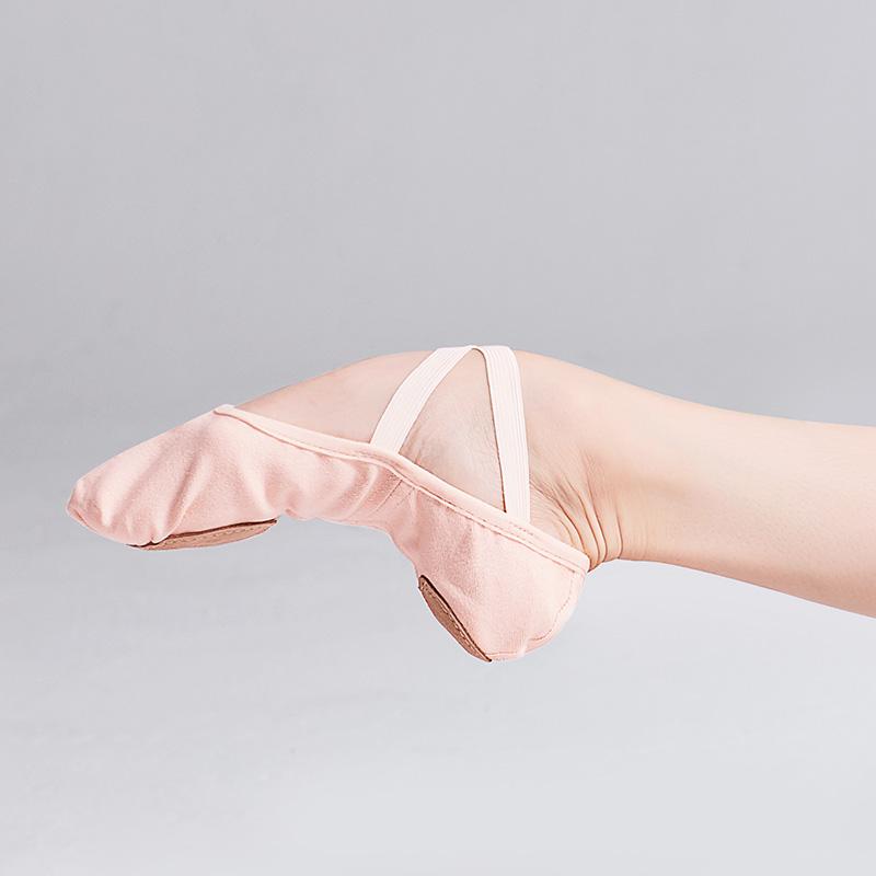 Elastic Canvas Ballet Dance Shoes for Women