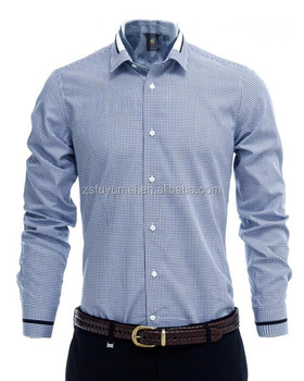Men S Casual Shirts China Supplier Good Quality Man Shirt Slim Fit 100 Cotton Office