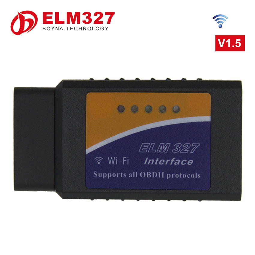 [ For iPhone and Android ] Obd2 diagnostic scanner for iPhone/ IOS ELM327 wifi scanner tool elm 327 scanner with wi-fi interface