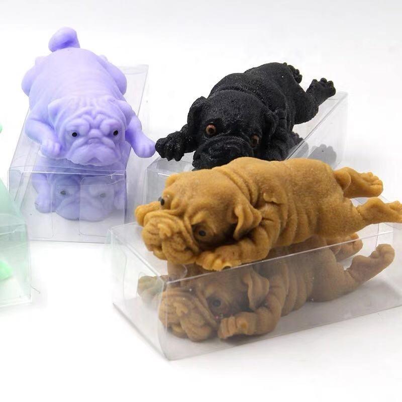 Hot Big Size Fashion 3D Mochi Kawaii Squishy Stress Fidgets Squeeze Dog Toys Animals Cartoon Squishy Stress Reliever Anxiety Toy