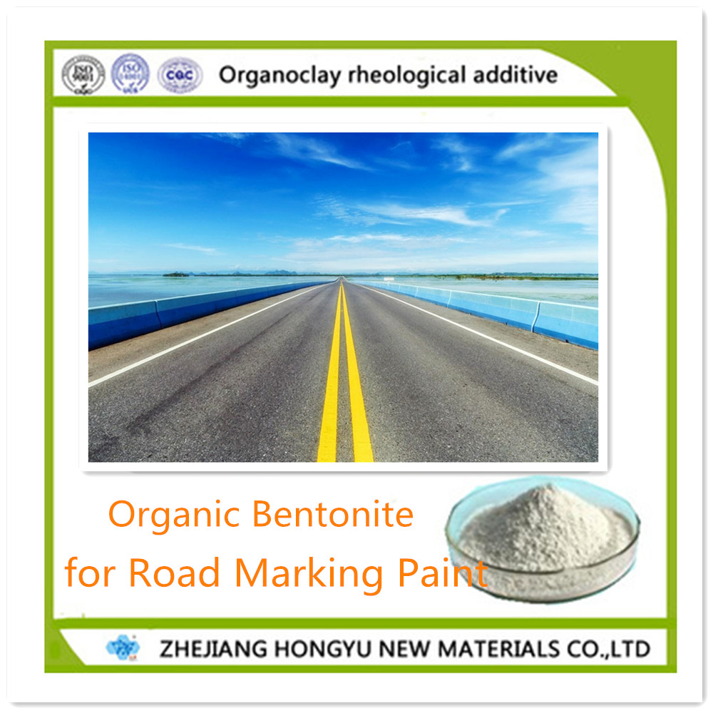 organic bentonite rheological additive for road marking paint traffic paint