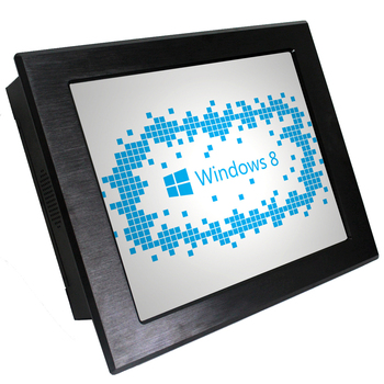 17 inch touchscreen all in one panel PC Industrial Automatic system computer with Aluminium case