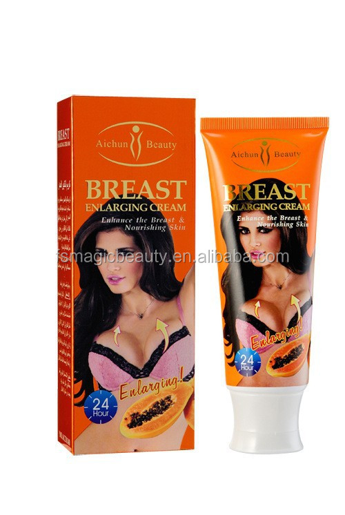 Aichun beauty breast lifting fast cream Arabic and English Papaya Coconut Garlic 120g