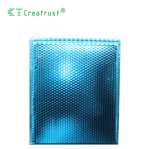 Colorful Shiny Air Cushion Envelope Metallic Bubble Mailer in Small Size